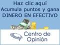 """Ganar con encuestas pagadas de """"Centro de opinión"""""""