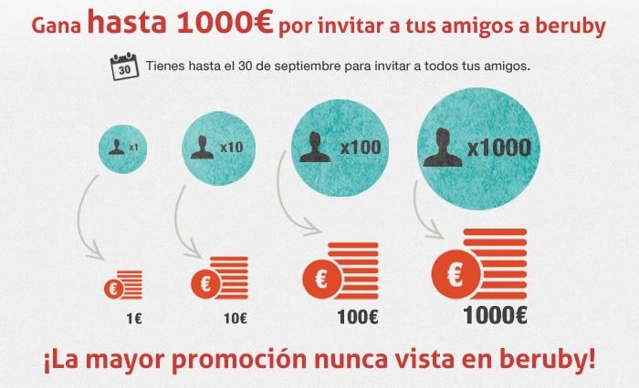Beruby promoción especial 1000 euros