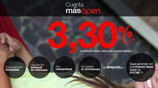 Ventajas de la cuenta Openbank MasOpen