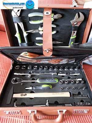 Maletín con herramientas